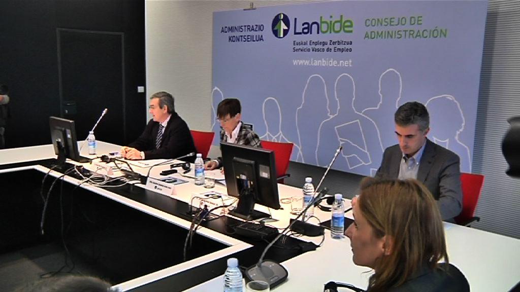 Constitución del Consejo de Administración de LANBIDE [1:20]
