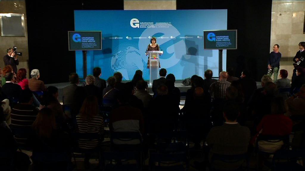 Lankidetzaren Euskal Agentziak GGKE-ei emandako ongietorria [13:51]