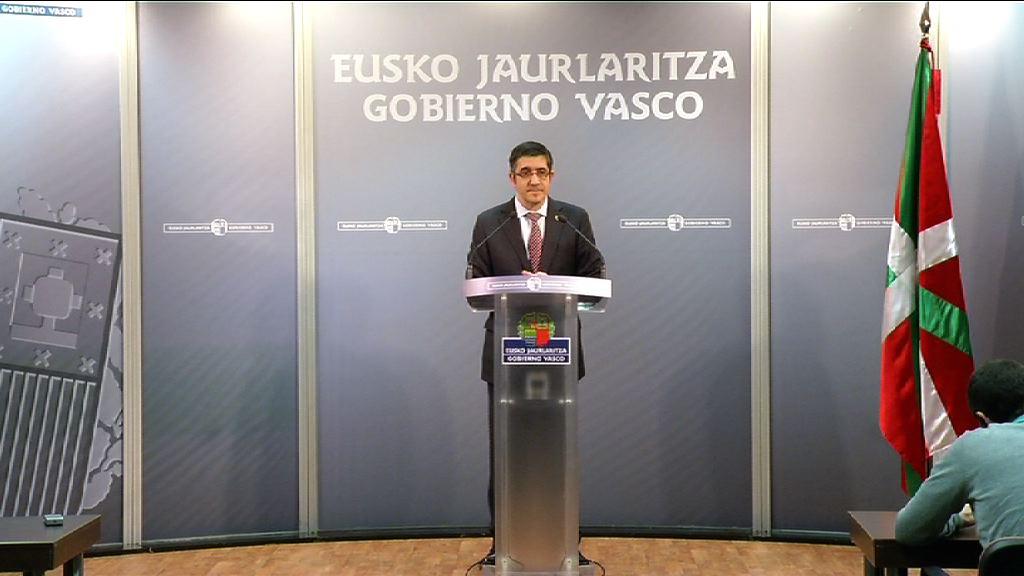 Valoración del Lehendakari de la ronda de contactos mantenida con los partidos políticos [29:29]