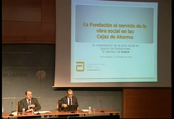Javier Aldazabal protagoniza la tercera jornada del Curso de Fundaciones [121:07]