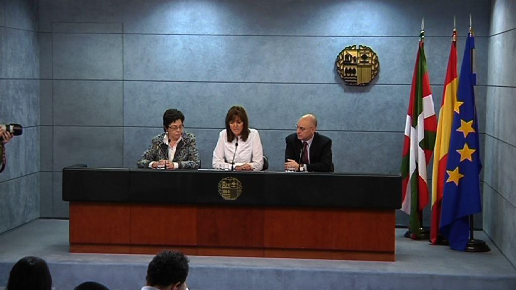 Rueda de prensa de la portavoz del Gobierno Vasco tras el Consejo de Gobierno [33:17]