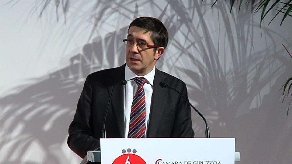 Intervención del Lehendakari en los XIX Premios de la Cámara de Comercio de Gipuzkoa  [12:05]