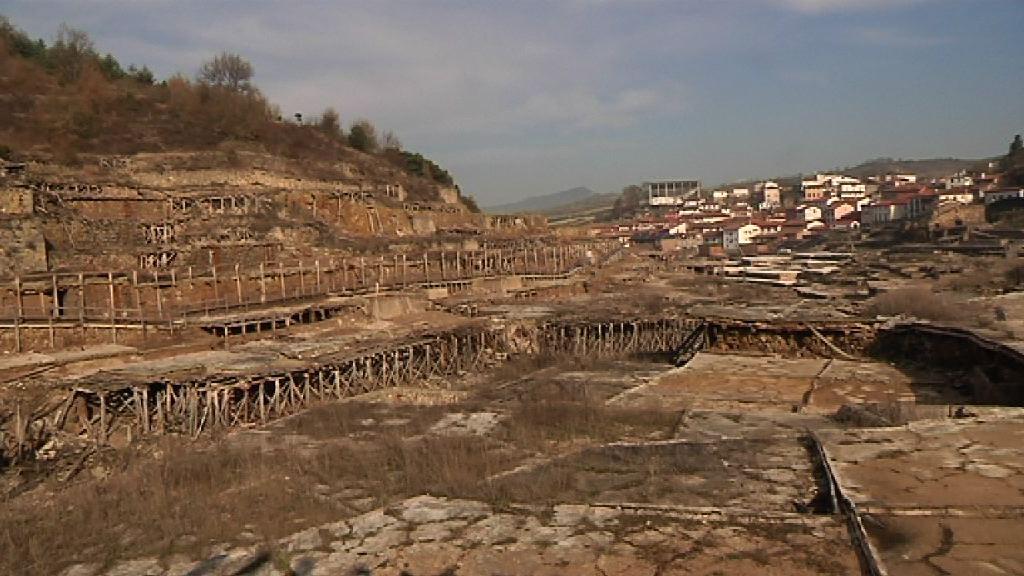 El Valle Salado de Añana, en proceso de recuperación  [1:00]