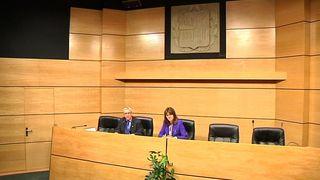 Rueda de prensa instituto vasco medicina legal