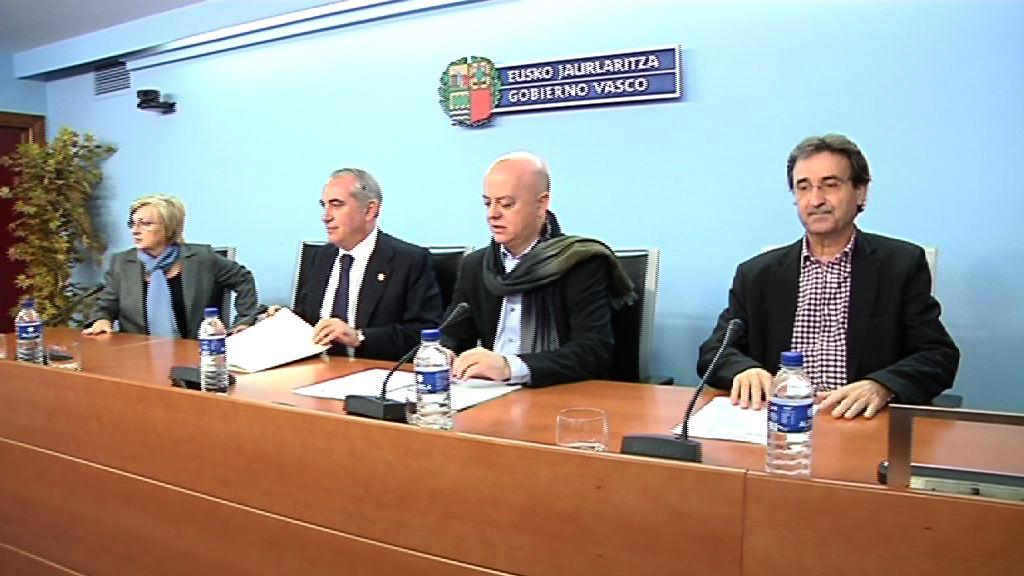 Presentación del acuerdo para 872 viviendas protegidas en Donostia [19:56]