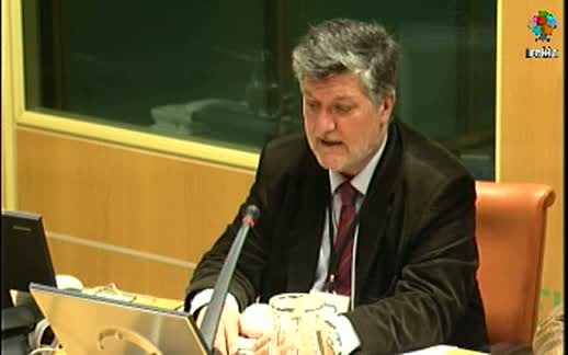 Comparecencia:  Director de Biodiversidad  y Participación Ambiental. Zonas Especiales de Conservación (15-03-2011) [133:31]