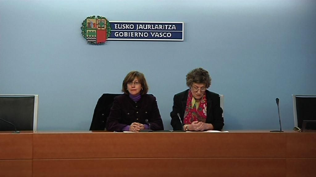 Declaración de la consejera de Cultura, Blanca Urgell, tras la ruptura de negociaciones sobre Chillida-Leku [42:57]