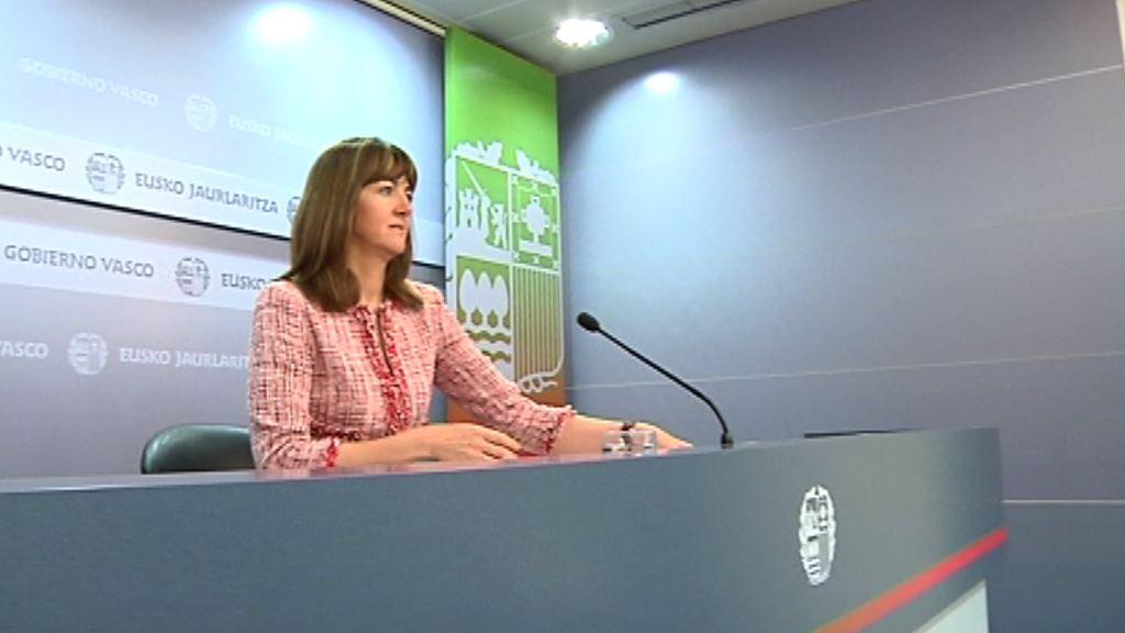 "Mendia exige no utilizar la lucha contra ETA como ""arma política fuera de Euskadi"" [1:10]"