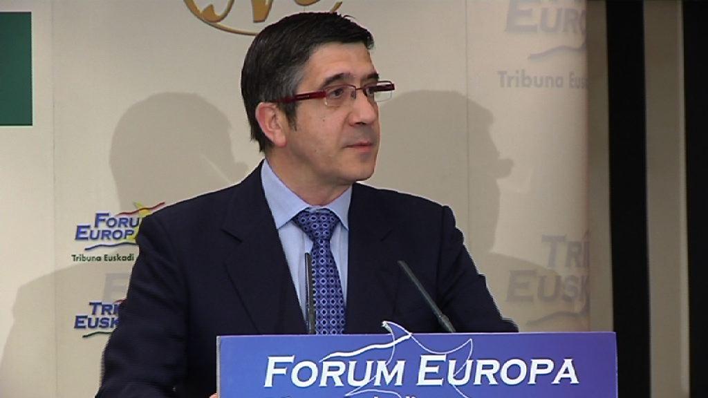 Forum Europa Tribuna Euskadin Lehendakariak egindako interbentzioa  [58:48]