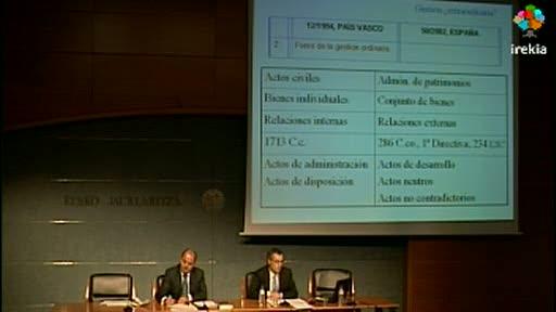 """Curso Fundaciones (VII): """"El apoderamiento de las Fundaciones a las personas físicas"""" [82:35]"""