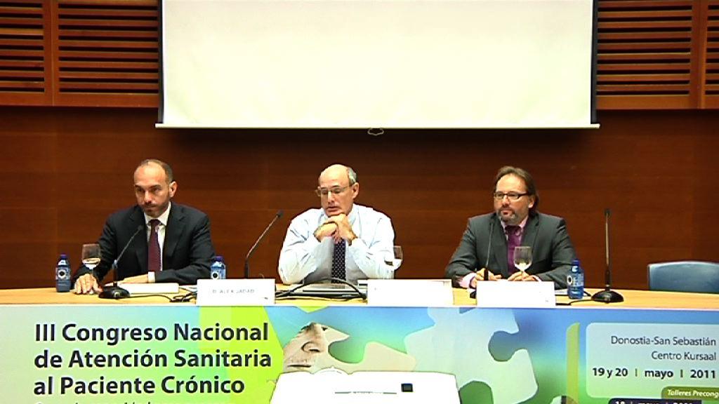 Presentación del III Congreso Nacional de Atención Sanitaria al Paciente Crónico [43:00]