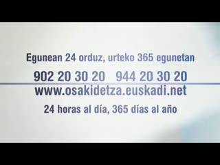 Osakidetza Orain - Orain errazagoa. Orain eraginkorroagoa. Ahora más sencillo. Ahora más eficaz [2:07]