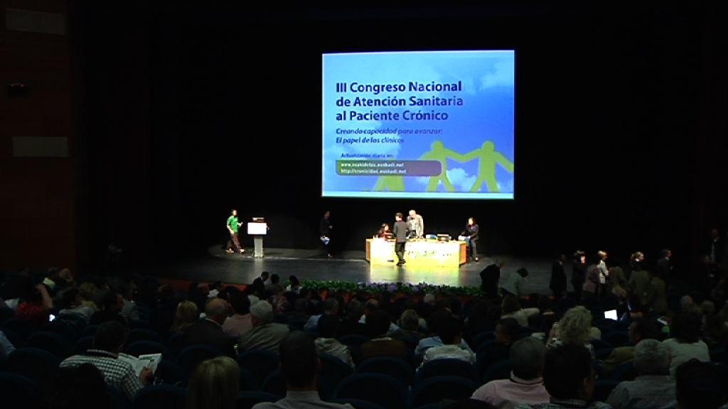 Inuguración del III Congreso Nacional de Atención Santaria al Paciente Crónico [49:35]