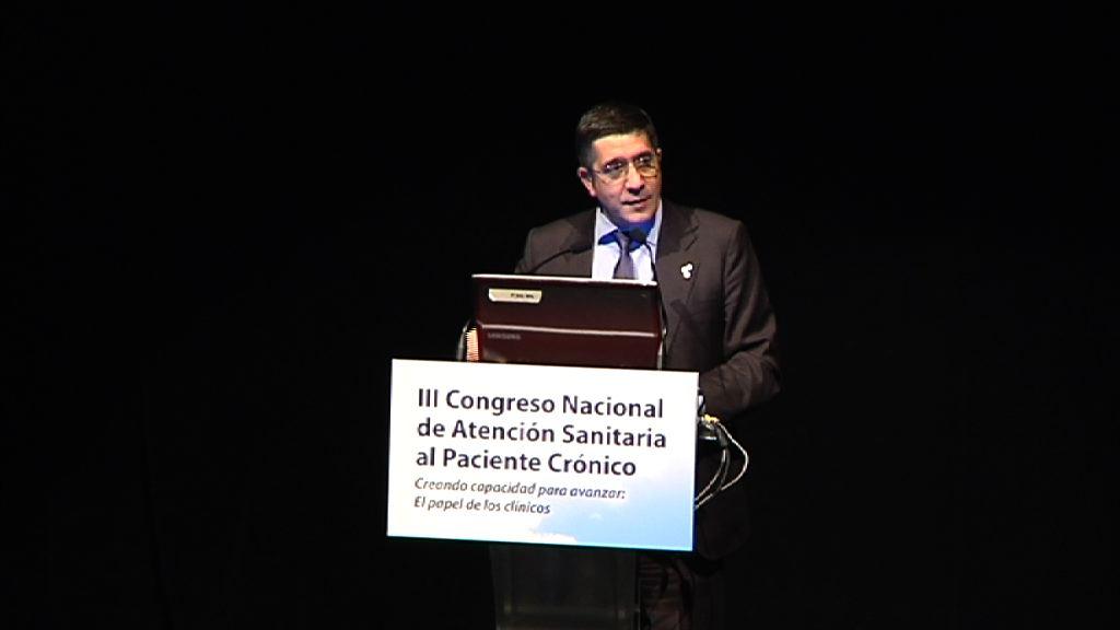 Intervención del Lehendakari en el III Congreso Nacional de atención Sanitaria al Paciente Crónico [11:47]