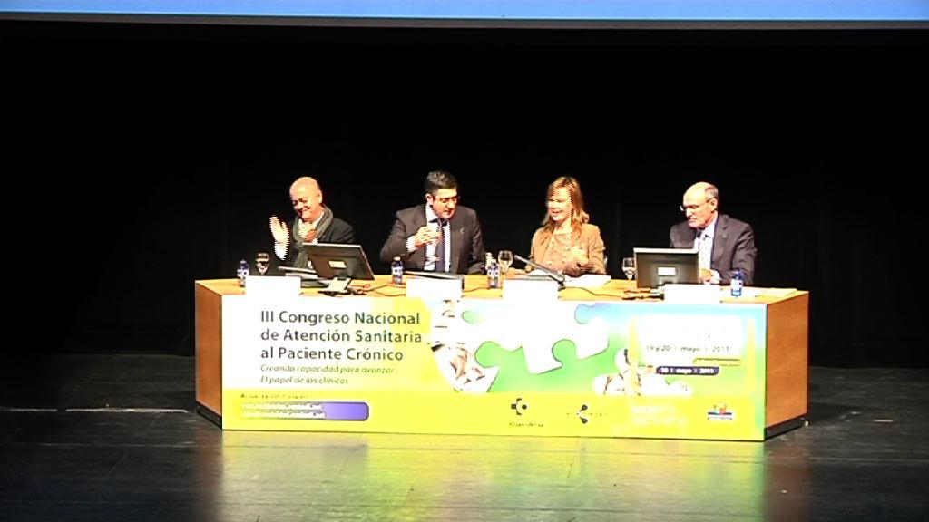 III Congreso Nacional de Atención Sanitaria al Paciente Crónico: Paciente Activo [1:33]