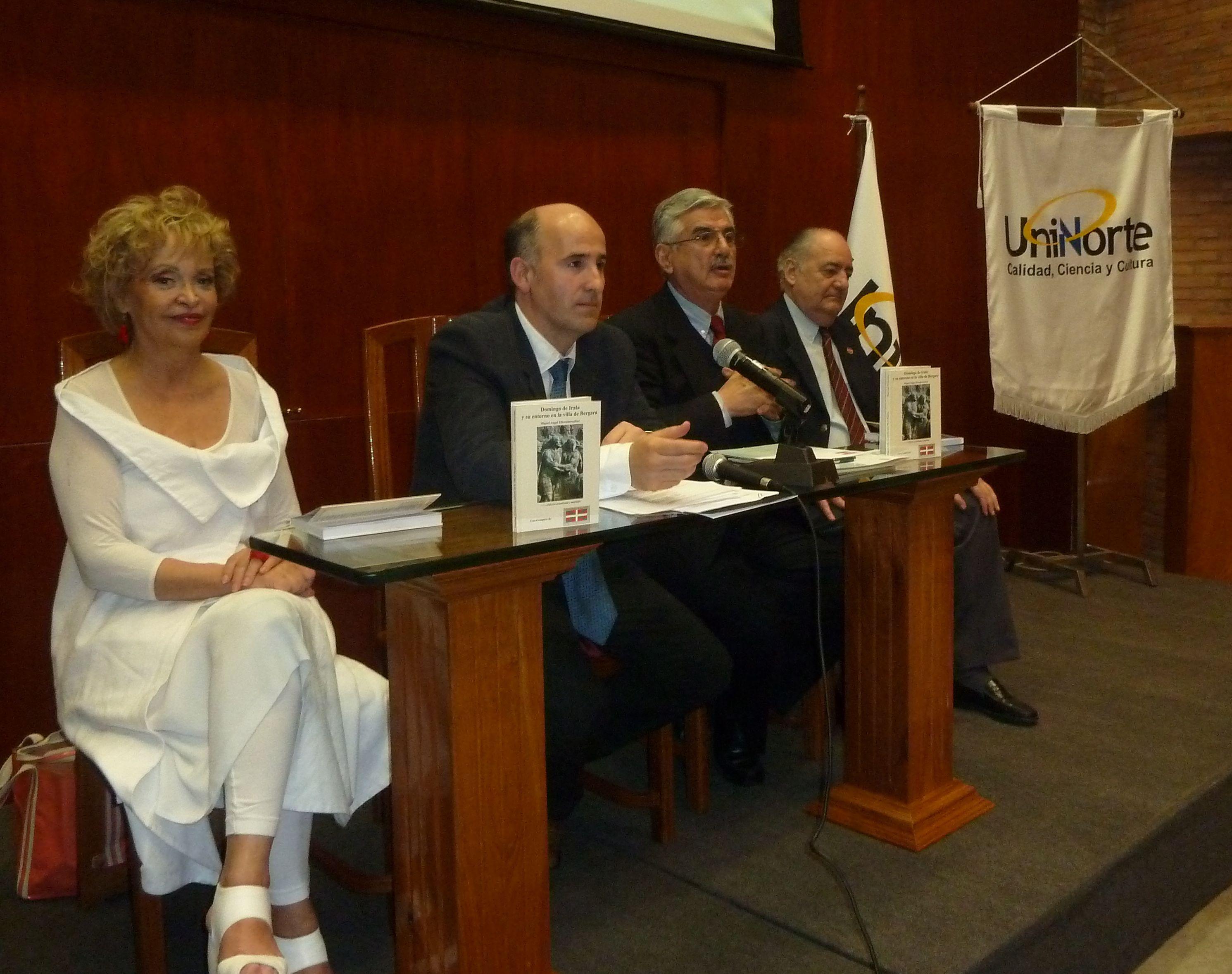 La Semana Vasca en Paraguay fue inaugurada con la presentación del libro sobre Domingo de Irala  [2:19]