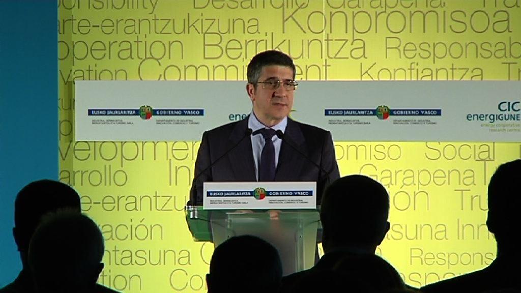 Intervención del Lehendakari en la inauguración del CIC energiGUNE  [8:46]