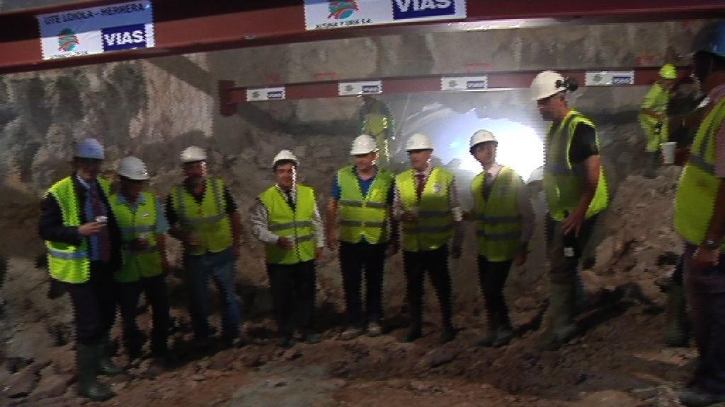 Loiola eta Herrera behin betiko loturik 2 kilometroko tunel baten bitartez [10:37]