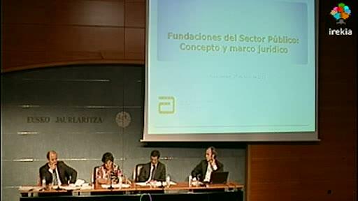 El Curso de Fundaciones aborda la problemática que afecta a las fundaciones en cuya constitución participa la Administración pública [131:17]