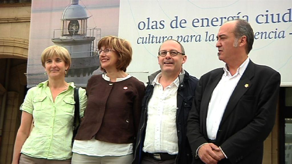 Las instituciones vascas se unen en defensa de Donostia como Capital Europea de la Cultura 2016 [1:06]