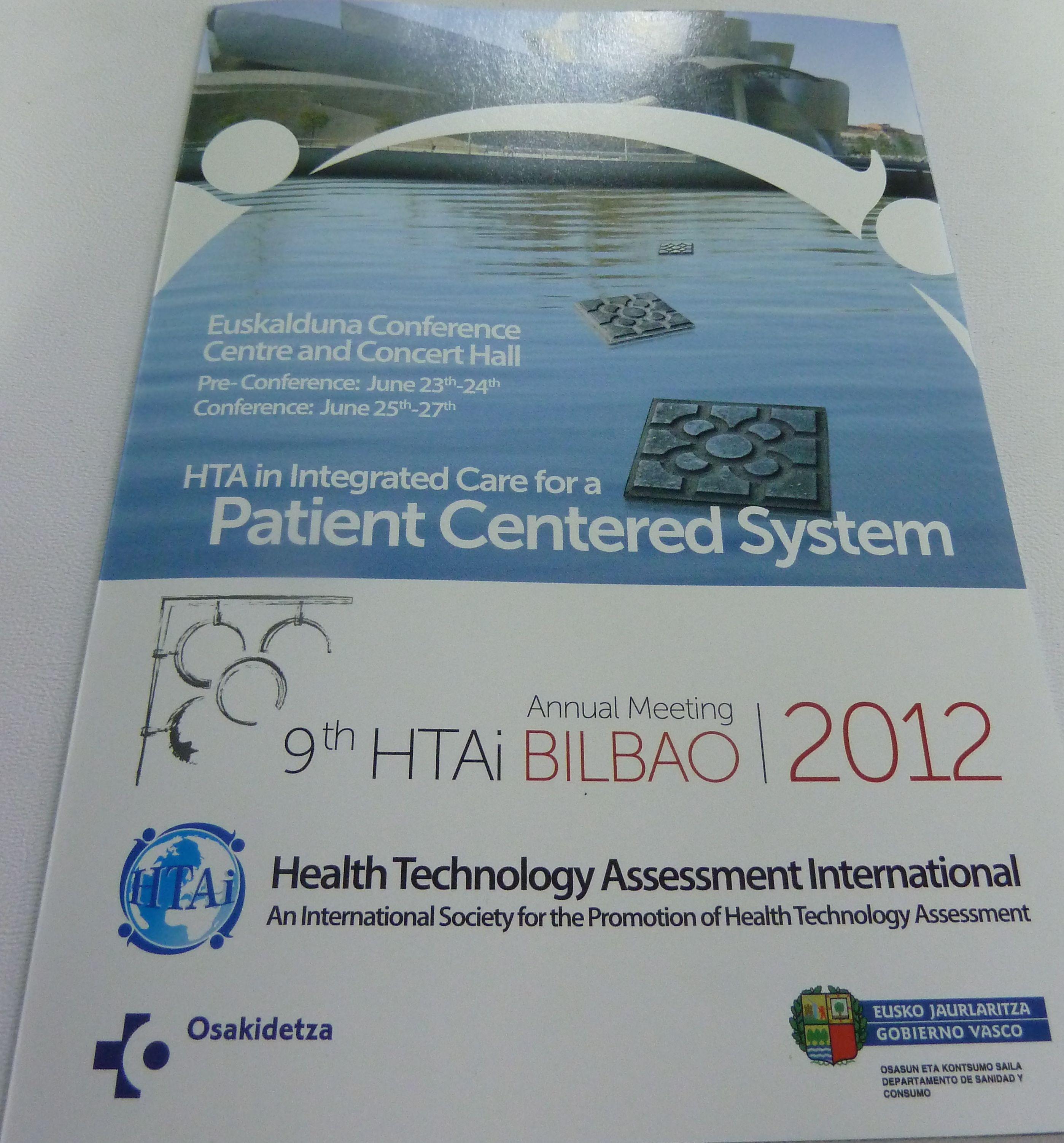 El Gobierno Vasco recibe en Brasil el testigo para realizar la conferencia HTAi 2012 [2:06]
