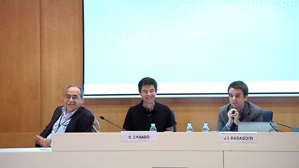 Salud 2.0 Euskadi (jornada miercoles). La práctica clínica y la salud 2.0: Ignacio Basagoiti y Salvador Casado [0:00]