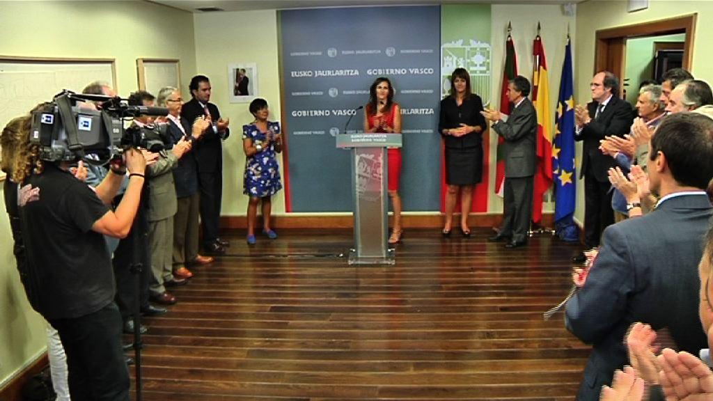 Recepción del Gobierno Vasco a representantes de la sociedad vasca en Madrid [22:34]