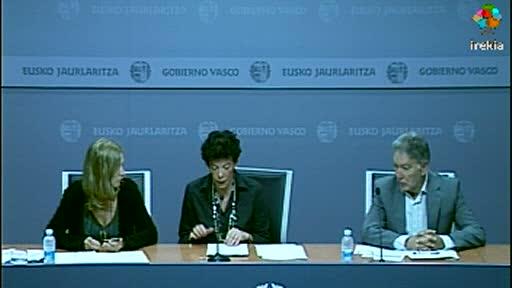 Isabel Celaá presenta el desarrollo del III Plan Vasco de Formación Profesional [29:20]