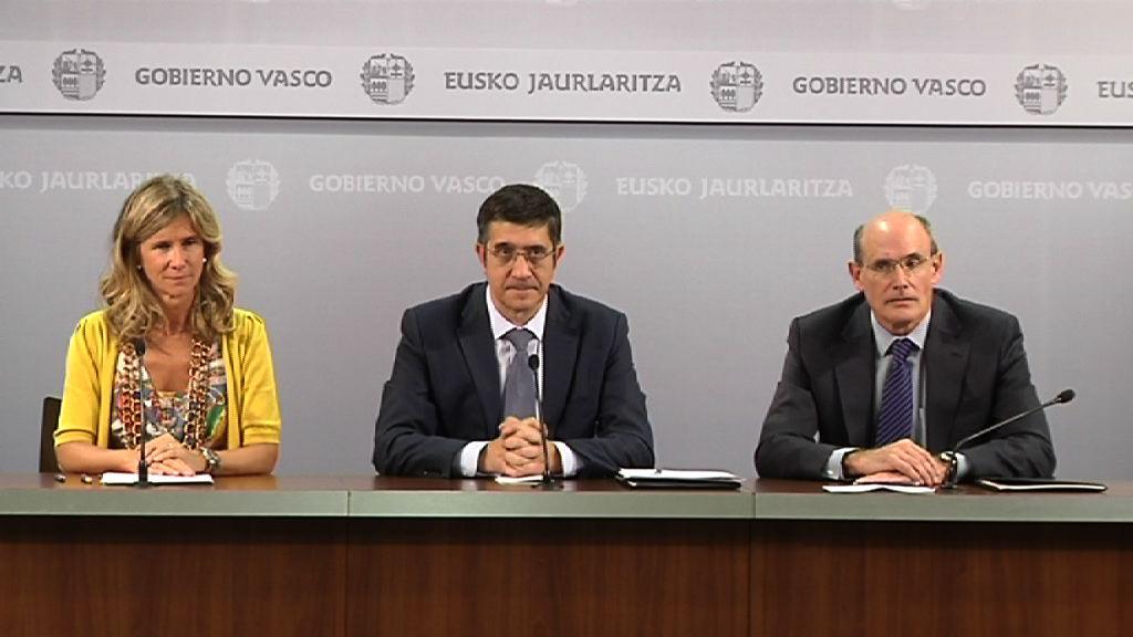 Patxi López lehendakariak eta Cristina Garmendia Zientzia eta Berrikuntza ministroak protokolo bat izenpetuko dute [25:21]
