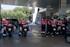 EAEko errepideetatik pasatu diren Espainiako Itzuliko etapetan, Ertzaintzako motor-gidariak arduratu dira txirrindulariak laguntzeaz