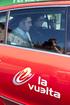 El Lehendakari, Patxi López, acompaña durante un tramo el recorrido de la Vuelta Ciclista a España a su paso por Euskadi