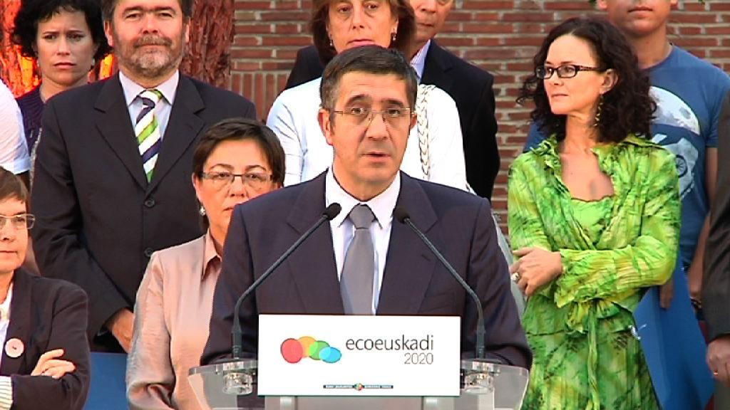 Intervención del Lehendakari en el encuentro de EcoEuskadi 2020 [8:34]