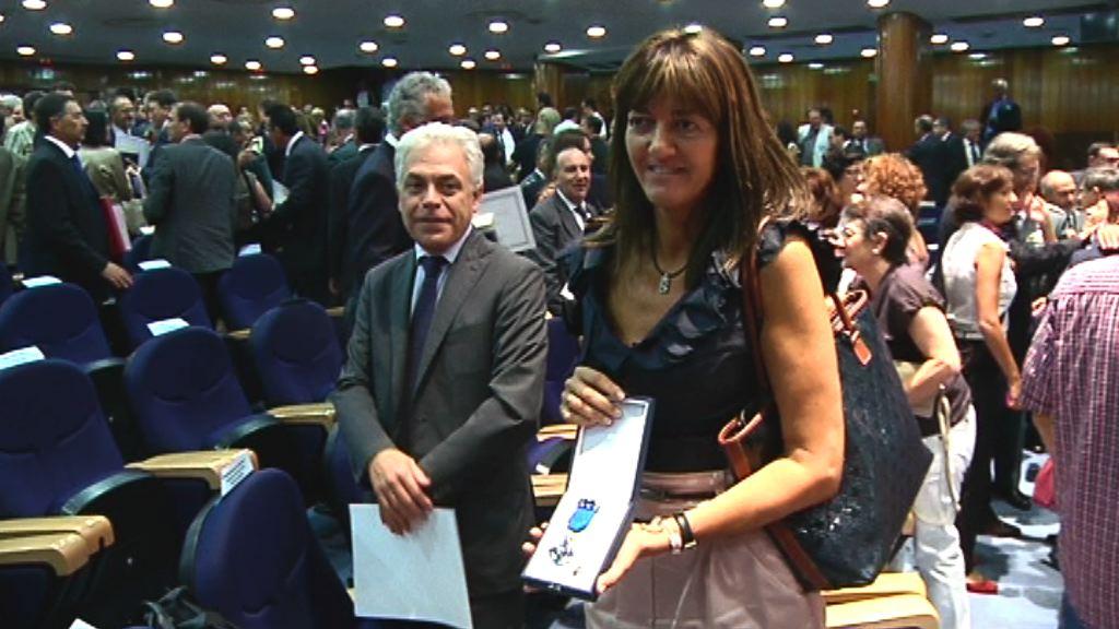 Idoia Mendia recoge en Madrid la Medalla de Plata al Mérito Social Penitenciario  [1:33]