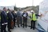The coordinators of the EU Atlantic Railway Axis Project visit the construction sites of the Basque Y in Gipuzkoa