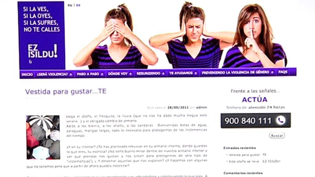 EZ ISILDU, nueva web para prevenir la violencia de género en la juventud [1:43]
