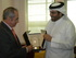 Arriola se reune con el Ministro de la Municipalidad de Qatar para abrir mercado a las empresas vascas