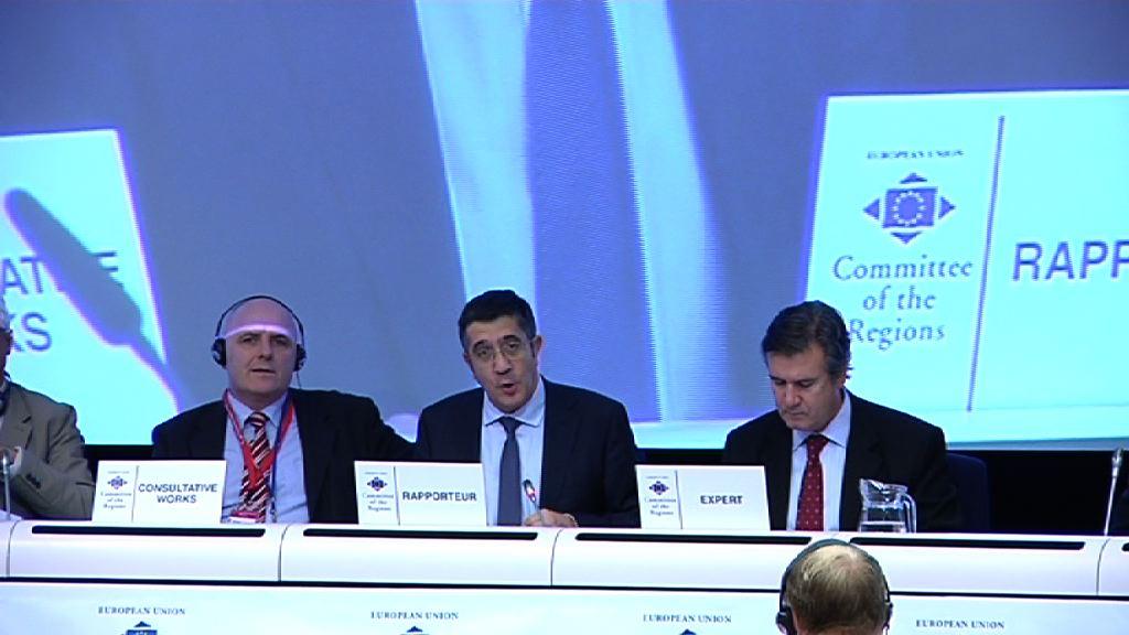 El Lehendakari presenta el dictamen sobre la Política Industrial en Europa [8:32]