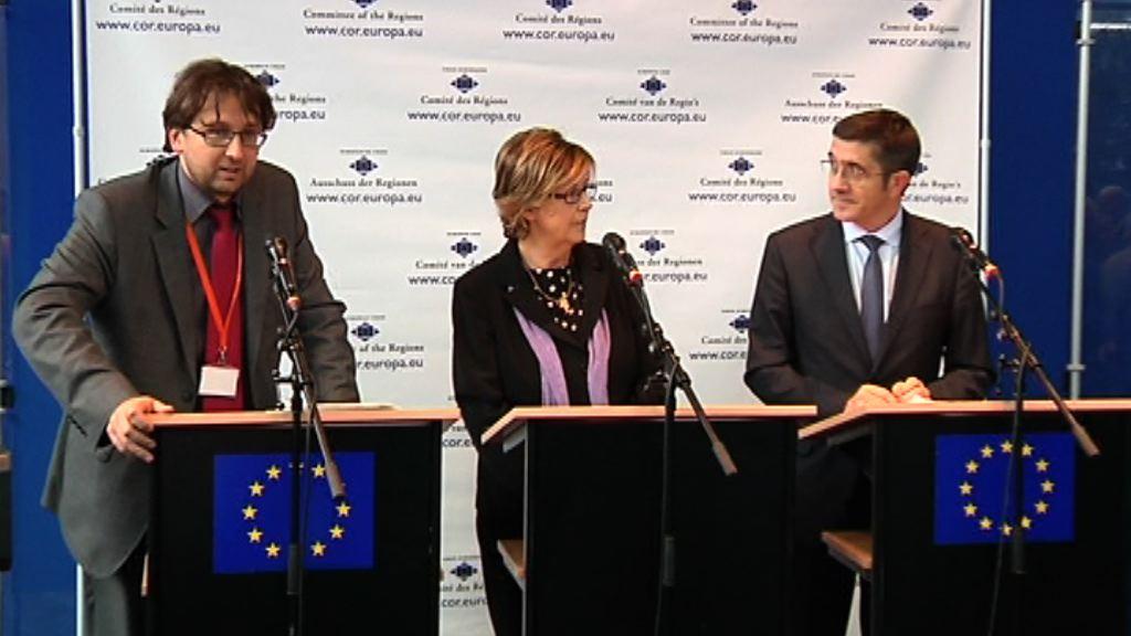 Rueda de prensa del Lehendakari (Bruselas) [8:11]