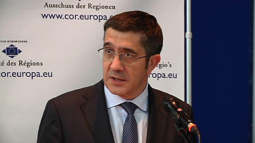 El Lehendakari destaca el papel de la industria y las regiones para el desarrollo europeo [4:47]