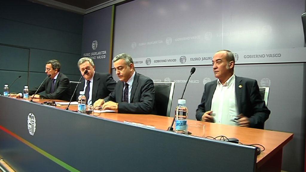 Rueda de prensa tras el Consejo Vasco de Finanzas [35:22]