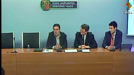 El Gobierno Vasco se adhiere a la Carta sobre Desarrollo Sostenible del transporte de la UITP [32:06]