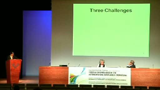 Expertos internacionales analizan en Bilbao los sistemas federalistas [68:00]