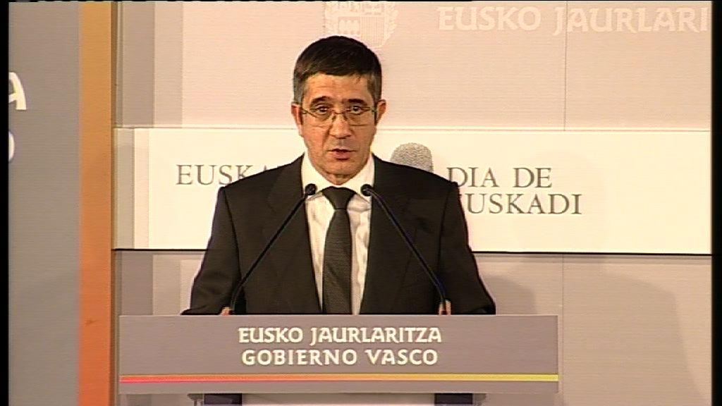 Intervención del Lehendakari en el Día de Euskadi [14:39]