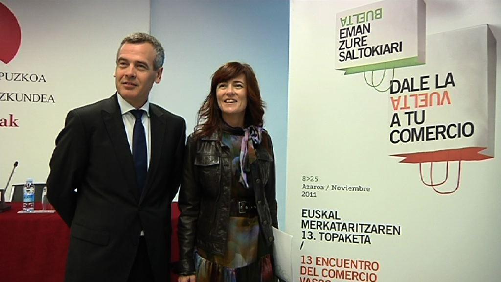 Más de 100 formadores y 300 comerciantes participarán en el congreso sobre innovación del comercio vasco [1:26]