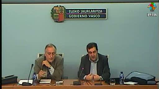El Gobierno Vasco ha alcanzado un acuerdo con RENFE para la integración de ésta última en el billete único en Bizkaia [40:42]