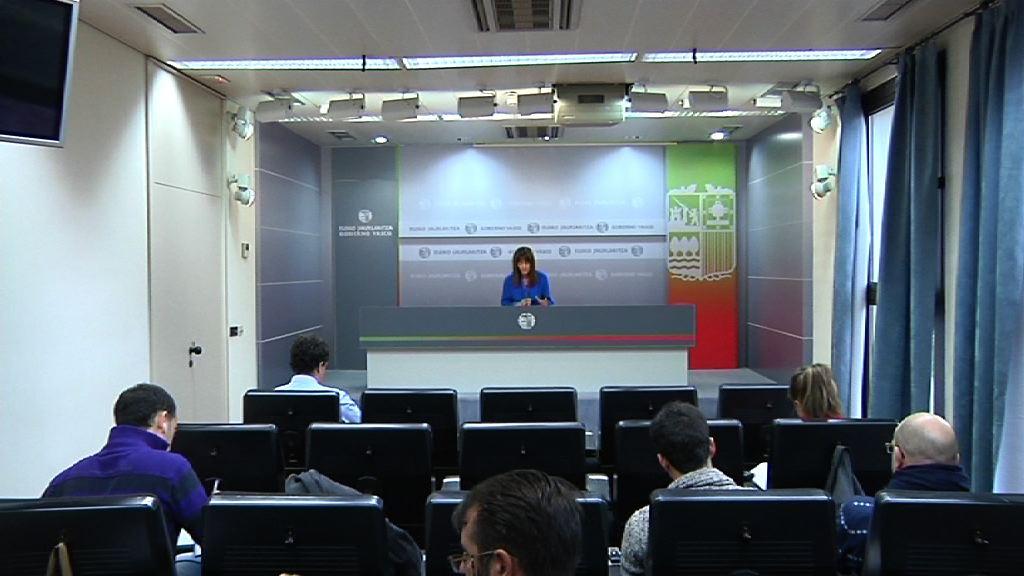 Rueda de prensa de la portavoz del Gobierno Vasco, Idoia Mendia, tras el Consejo de Gobierno [21:49]
