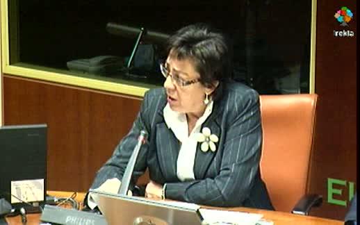 Pilar Unzalu: EcoEuskadi 2020 aúna los criterios de desarrollo sostenible que deben ser incorporados en los planes sectoriales [86:15]