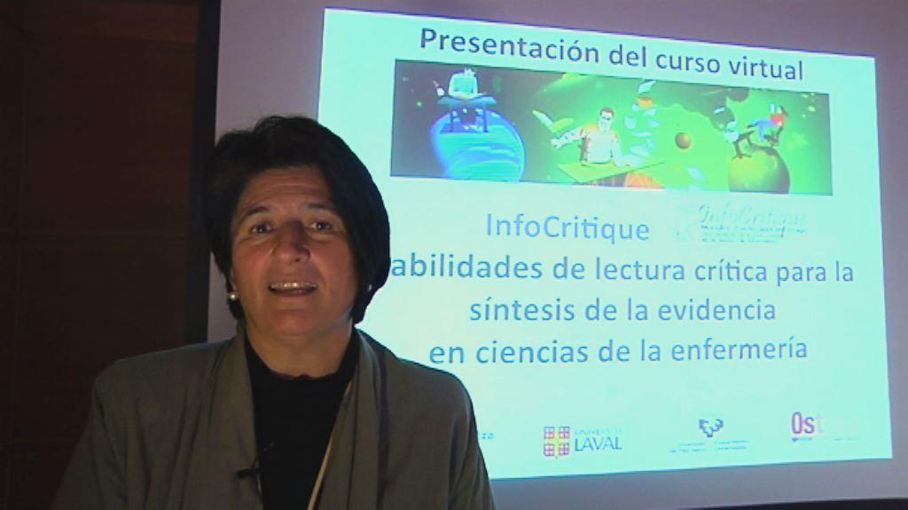 Presentación del Curso de Habilidades de Lectura Crítica. Elena de Lorenzo [1:02]