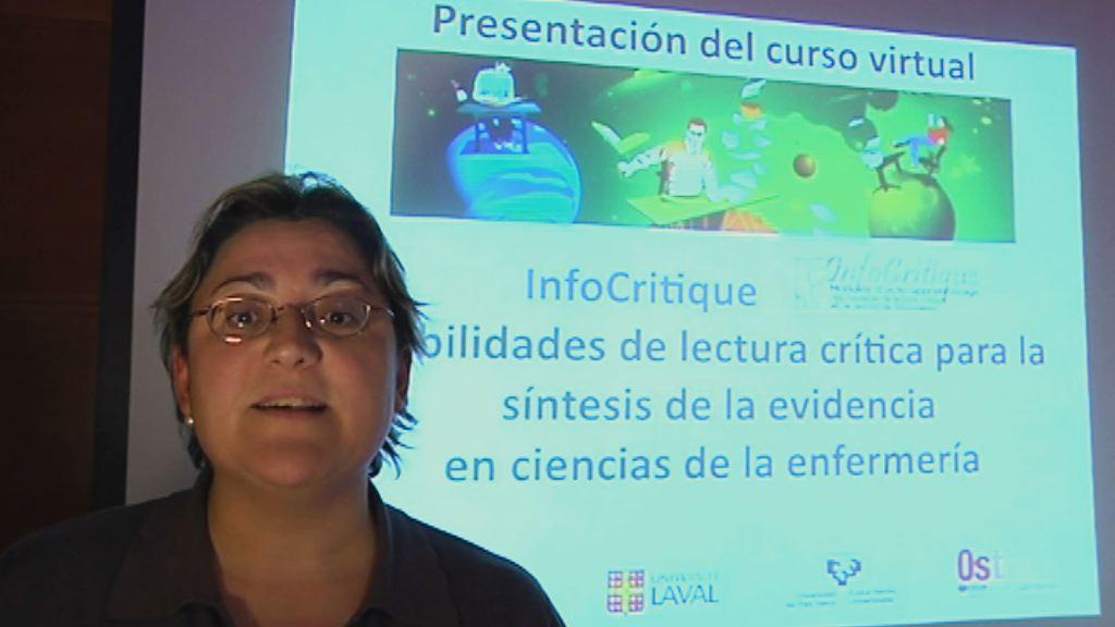 Presentación del Curso de Habilidades de Lectura Crítica. Mª Ángeles Cidoncha [1:36]