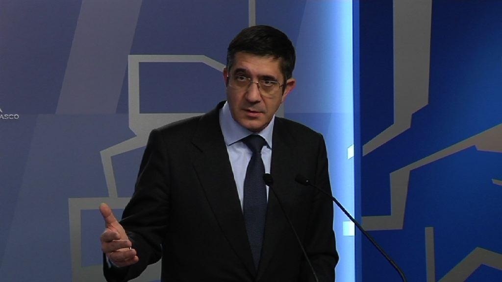 El Lehendakari exige a Rajoy adoptar medidas inmediatas que pongan fin al conflicto sanitario con La Rioja [9:22]